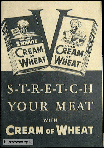 Stretch Your Meat with Cream of Wheat
